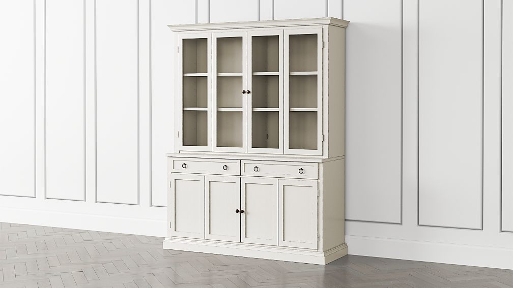 Cameo Dama 2-Piece Entertainment Center with Wood and Glass Doors - Image 1 of 5