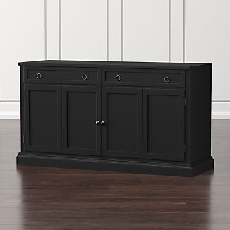 "Cameo 62"" Bruno Black Modular Media Console"