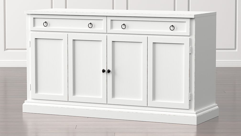 Cameo 62 Quot White Modular Media Console Reviews Crate