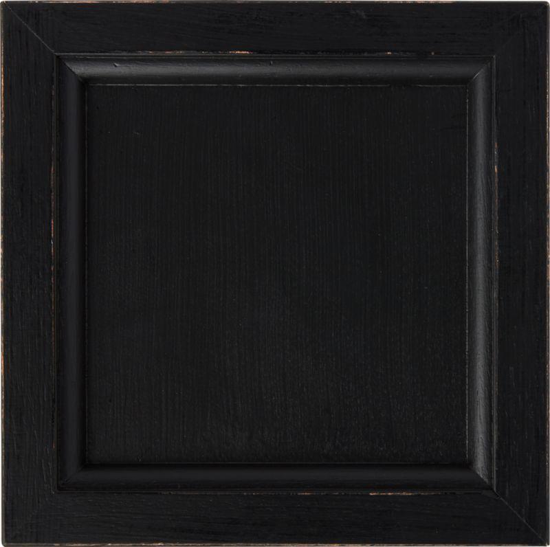 black wood. Italian Artisan Originals Bruno Black 8x8 Swatch + Reviews   Crate And Barrel Wood
