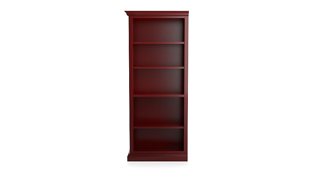 Cameo Red Left Open Bookcase - Image 1 of 3