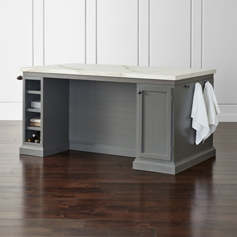 Pin It Cameo 72 Large Kitchen Island