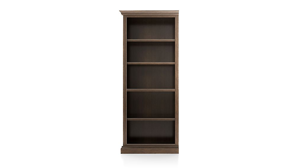 Cameo Pinot Lancaster Open Bookcase with Left Crown - Image 1 of 2