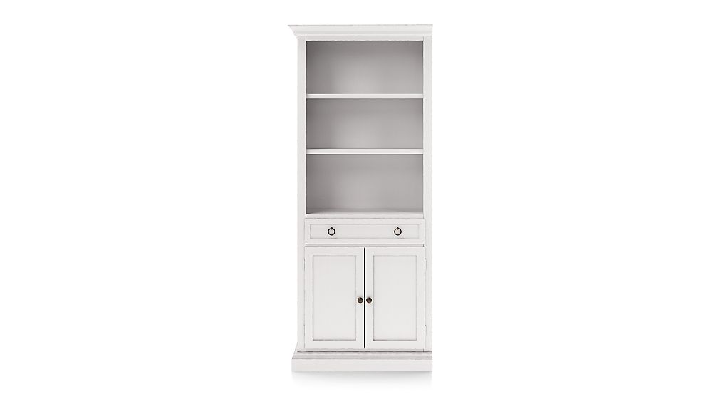 Cameo Dama Storage Bookcase with Left Crown - Image 1 of 3