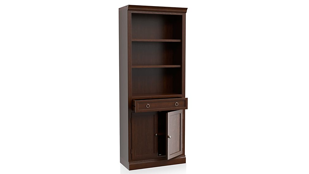 Cameo Aretina Walnut Middle Storage Bookcase