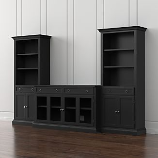 Solid Wood Tv Stands Crate And Barrel
