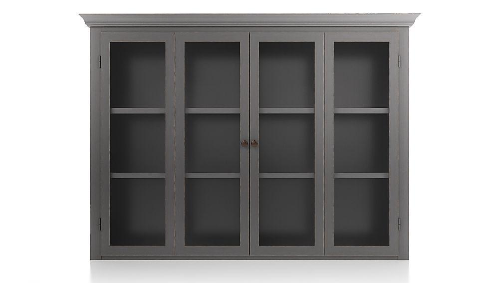 Cameo Grigio Modular Hutch with Glass Doors - Image 1 of 3
