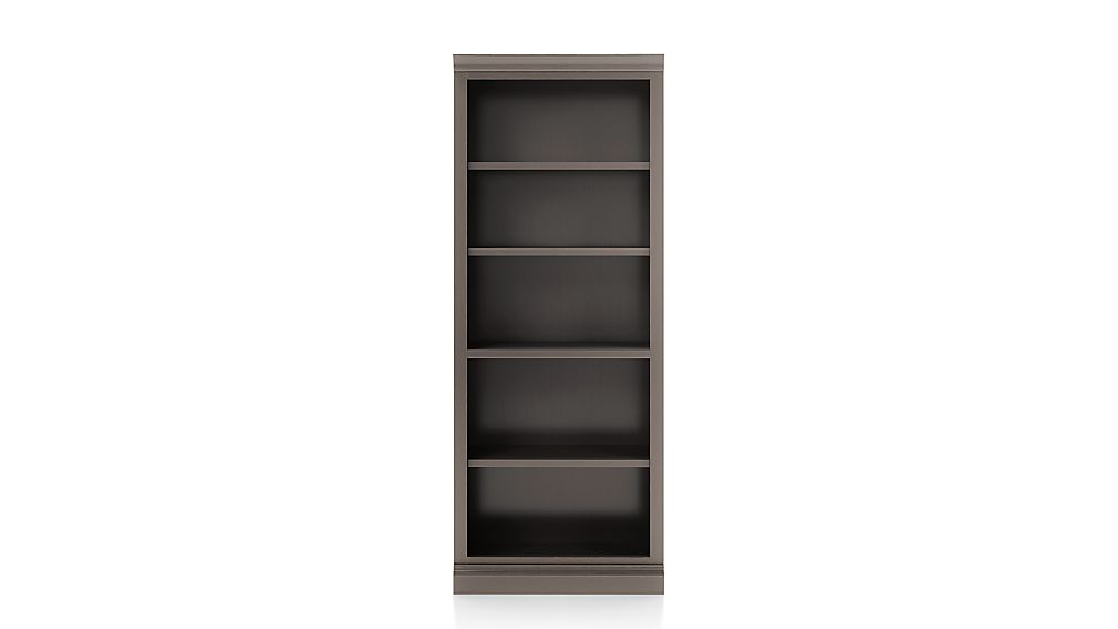 Cameo Grigio Open Bookcase with Middle Crown - Image 1 of 2