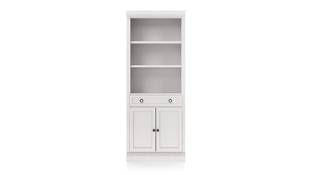 Cameo Dama Storage Bookcase with Middle Crown - Image 1 of 3