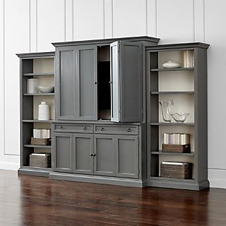 Living Room Entertainment Centers | Crate and Barrel