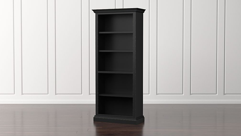 Cameo Bruno Black Open Bookcase