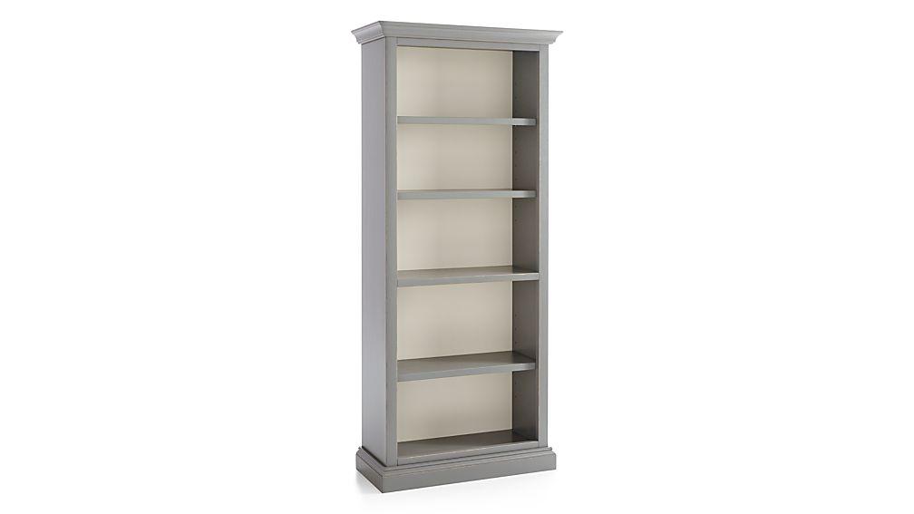 Cameo Grey Open Bookcase