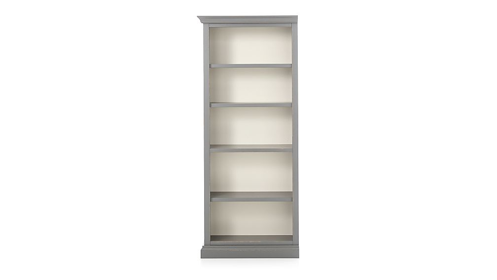 Cameo Grey Left Open Bookcase