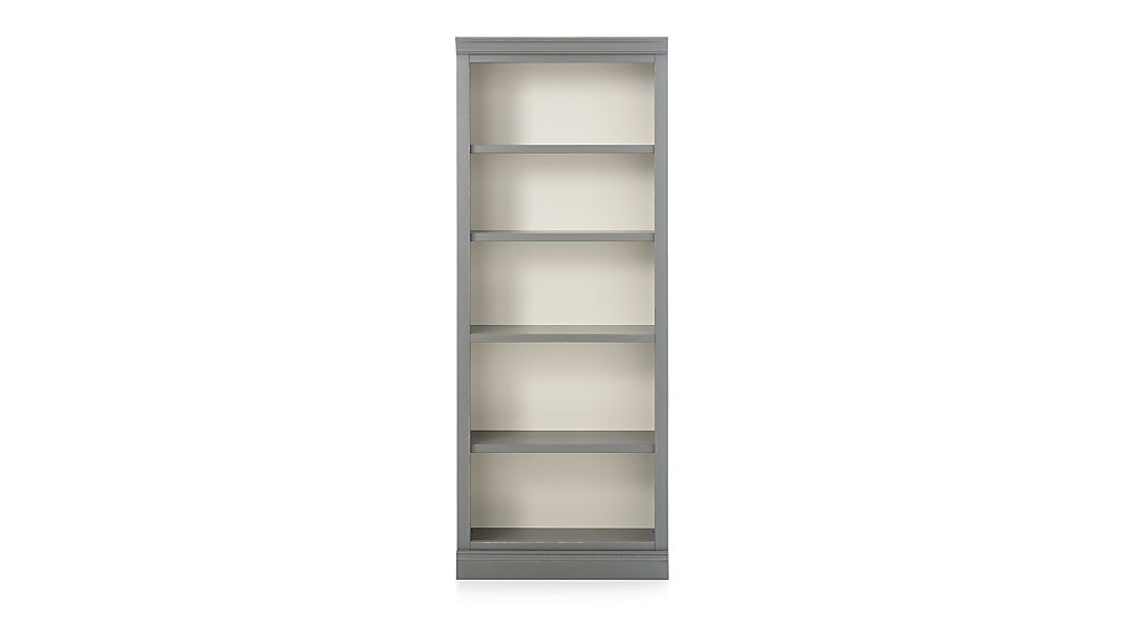 Cameo Grey Middle Open Bookcase