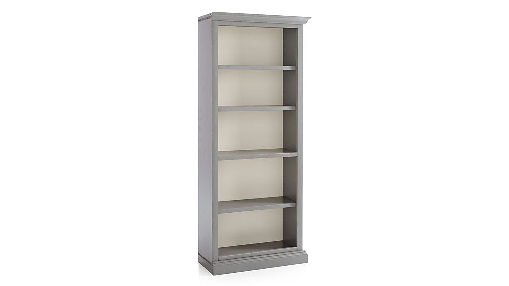 Cameo Grey Right Open Bookcase