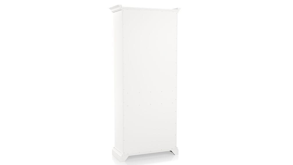 Cameo White Open Bookcase