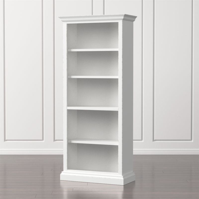 Cameo White Open Bookcase In Bookcases Reviews Crate