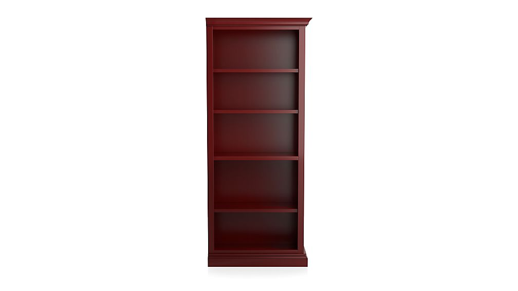 Cameo Red Right Open Bookcase - Image 1 of 3