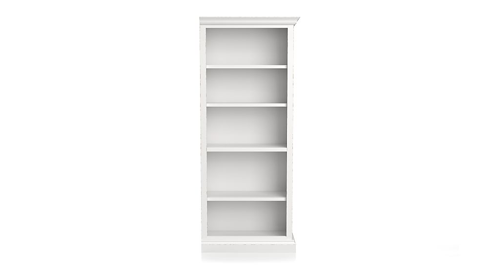 Cameo White Right Open Bookcase - Image 1 of 2