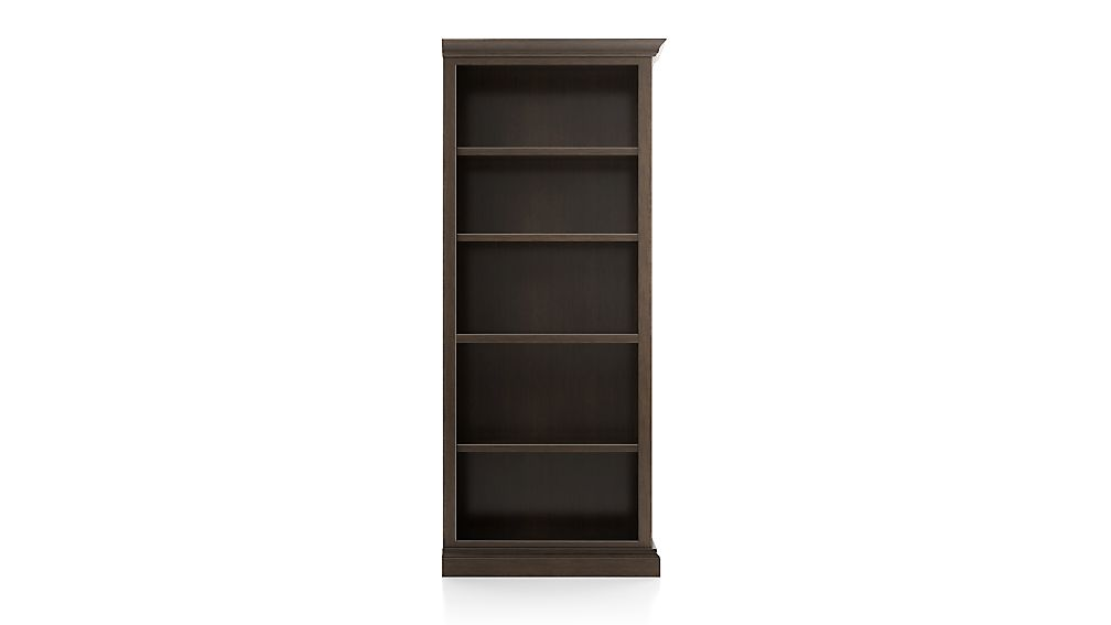 Cameo Pinot Lancaster Open Bookcase with Right Crown - Image 1 of 3