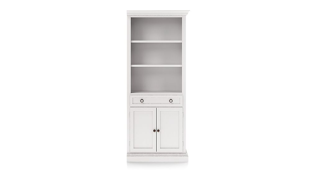 Cameo Dama Storage Bookcase with Right Crown - Image 1 of 3
