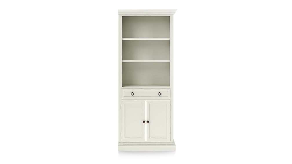 Cameo Vamelie Storage Bookcase with Right Crown - Image 1 of 4