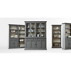 living room furniture cabinets. Modular Storage Collections Living Room Furniture  Crate and Barrel