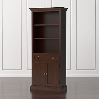 Cameo Aretina Walnut Storage Bookcase