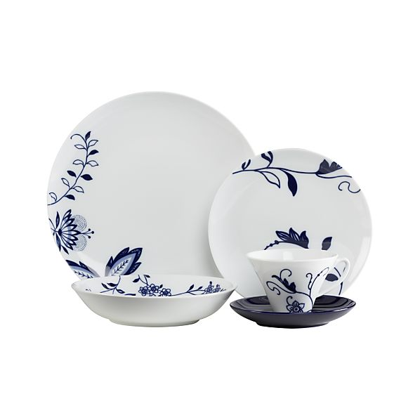 Camille 5-Piece Place Setting with Low Bowl