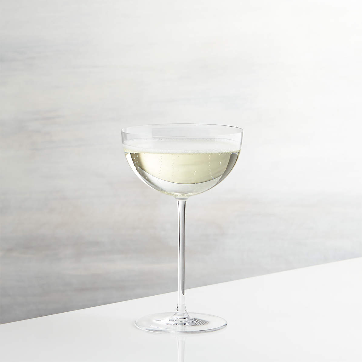 Camille Long Stem Champagne Coupe Glass Reviews Crate And Barrel