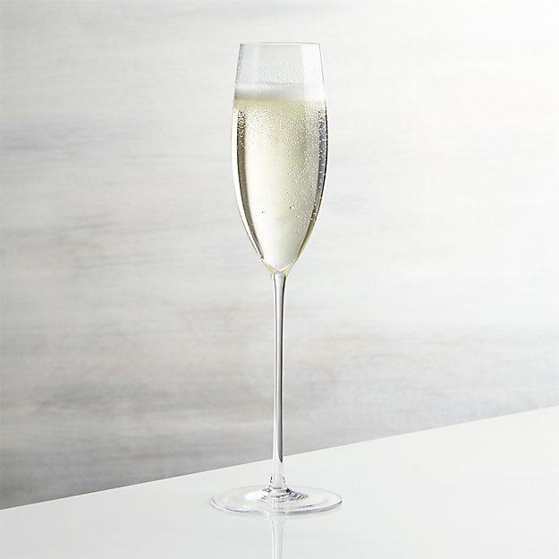 camille long stem champagne glass reviews crate and barrel. Black Bedroom Furniture Sets. Home Design Ideas