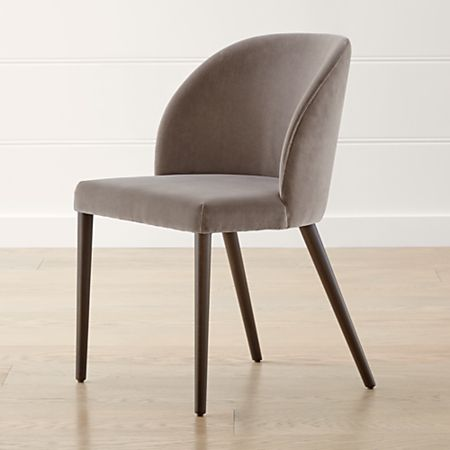 Awesome Camille Taupe Italian Dining Chair Bralicious Painted Fabric Chair Ideas Braliciousco