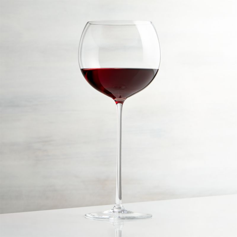 camille 23 oz long stem wine glass red reviews. Black Bedroom Furniture Sets. Home Design Ideas