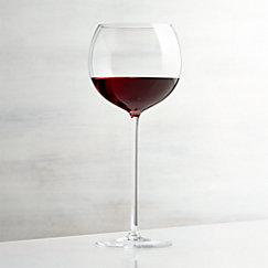 Camille 23 Oz Long Stem Wine Gl Red
