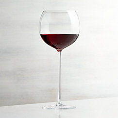 Camille 23 Oz. Long Stem Wine Glass - Red