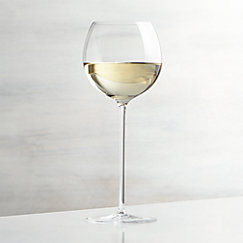 Camille 13 Oz. Long Stem Wine Glass - White