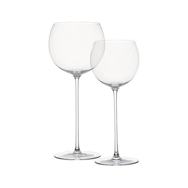 Rotweingläser Ikea camille stem wine glasses crate and barrel