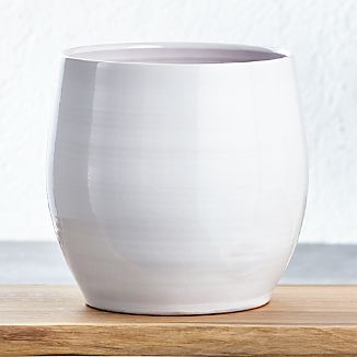Campana Large White Planter