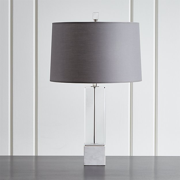 Campbell Crystal Table Lamp Crate And Barrel