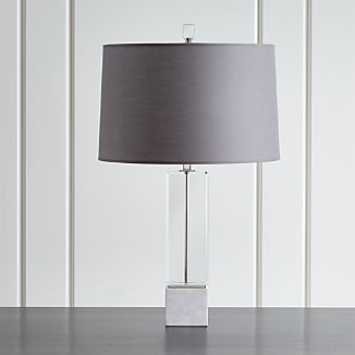 Campbell Crystal Table Lamp