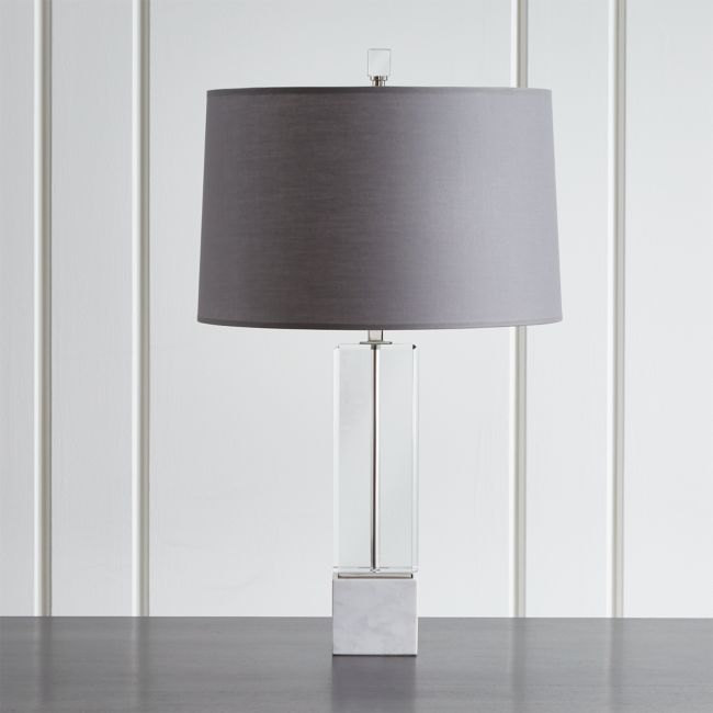 Table Lamp with White Varena Shade