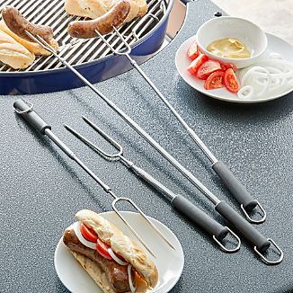 Set of 4 Campfire Forks