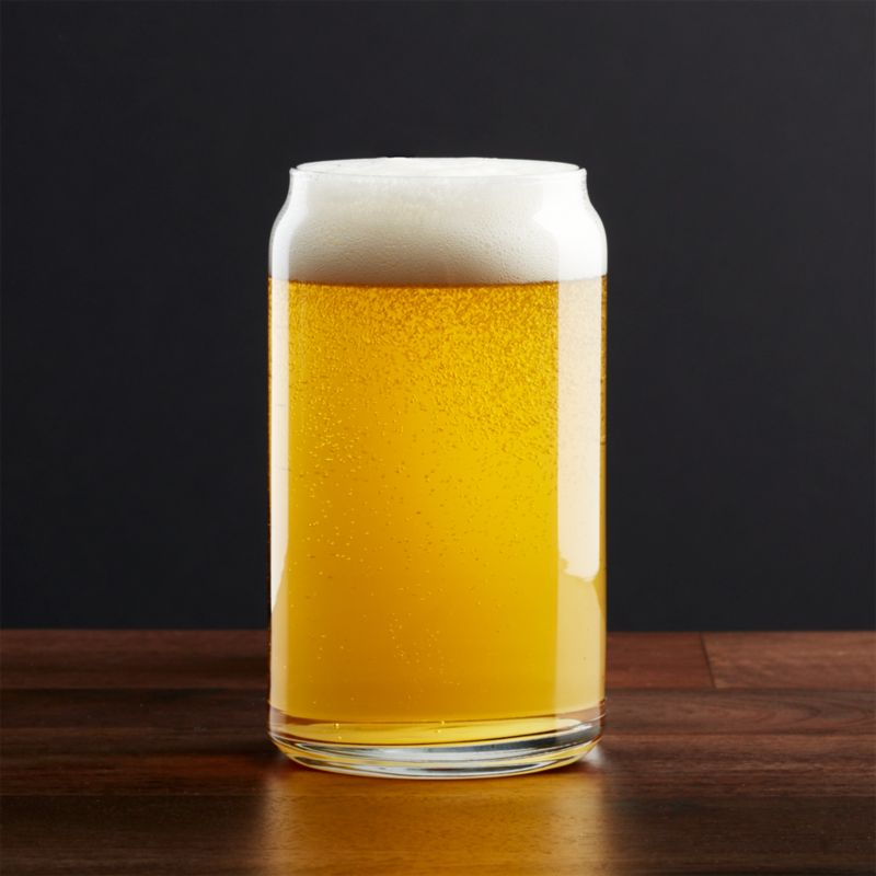 Soda/Beer Can Glass + Reviews | Crate and Barrel