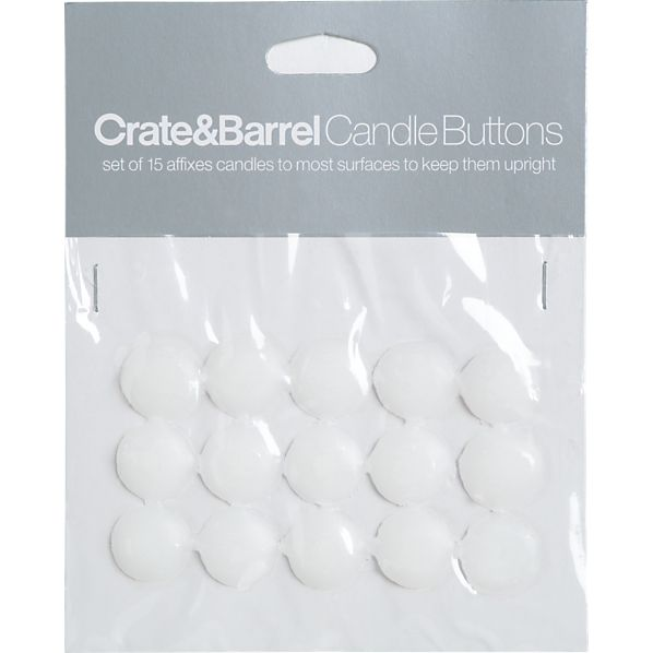 Set of 15 Candle Buttons