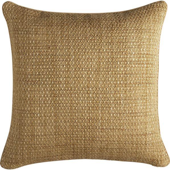 "Caney Teak 20"" sq. Pillow"