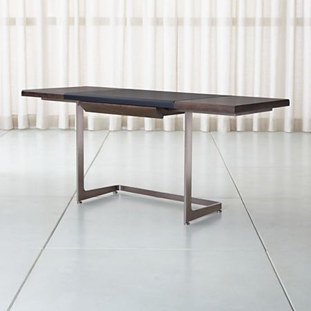 Pleasing Cantilever Wood And Metal Desk Download Free Architecture Designs Scobabritishbridgeorg