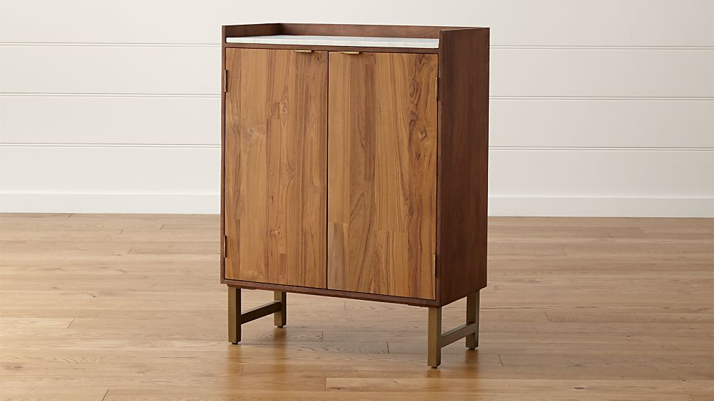 Cantina Bar Cabinet In Cabinets Carts Reviews Crate And Barrel