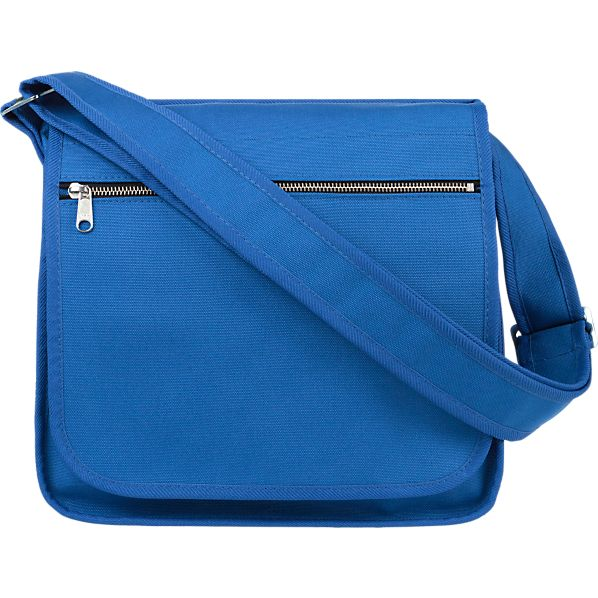 Marimekko Olkalaukku Blue Canvas Bag