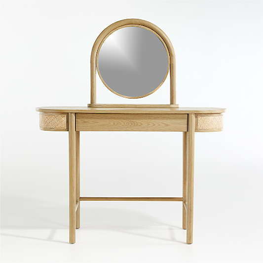 Kids Canyon Natural Desk and Mirror