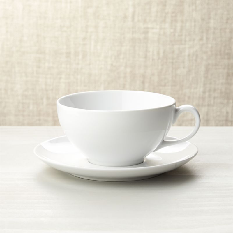 Cappuccino Cup With Saucer Reviews Crate And Barrel